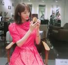이다희, 화려한 핑크원피스로 '깜찍함 소환'