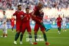 [컨페드컵] 포르투갈, 멕시코 4강 진출…개최국 러시아 탈락