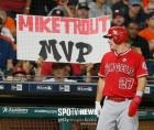 MLB.com 선정 선수 랭킹 1위 트라웃…커쇼 6위