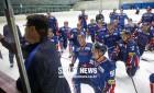 '첫 선제골' 男 아이스하키 5연패, NHL 스타 파워 미국에 1-13 패