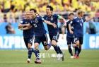 행운을 승리로 바꾼 일본…후반전 콜롬비아 압도했다