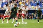 맹공 퍼부은 호주, 덴마크와 1-1 무승부