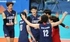 男 배구, 불가리아에 2-3 석패…1승 14패 최하위로 마감