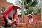 아시아나항공, 베트남서 '사랑의 집 짓기' 활동
