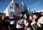 KT, 평창서 '국가대표와 촬영' 이벤트