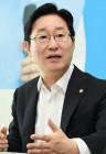 """민주 당권주자 박범계 """"민주당 위기 온다…혁신과 새얼굴 필요"""""""