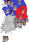 지방선거 D-23… 한국당 2곳, 민주당 9곳 우세