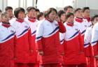 北평창선수단, 노메달로 대회 마감