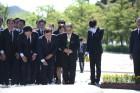 이재정 경기교육감 후보, 故노무현 전 대통령 9주기 추도식 참석