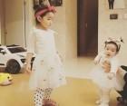 소이현♥인교진 두 딸, 딸바보 될 수밖에 없는 특급 귀여움