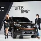 오픈형 SUV '렉스턴 스포츠' 대박 터뜨리나…벌써 5500대 판매