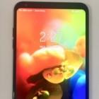 노치 없는 6인치 OLED 탑재 'LG V35 씽큐' 전면 실사진 공개