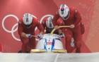 [올림픽] 봅슬레이 4인승 3차 주행서 2위... 메달 목전