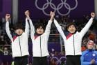 [평창올림픽]팀추월 銀 이끈 이승훈, 진정한 레전드로 등극하다