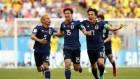 일본, 콜롬비아에 수적우세로 2-1 승… 아시아 최초 남미 상대 승리