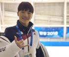 """쇼트트랙 서이라, 김동성에게 """"남은 경기에서 멋진 모습"""""""