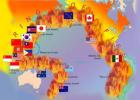 환태평양 지진 이어 남태평양 해상에서도 지진, 위치 보니 '불의 고리'