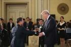 文대통령, 트럼프와 만찬과 기념 문화공연 관람