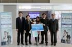 우리은행, 인천공항 제2여객터미널서 '외국인근로자 출국만기보험금 지급 서비스' 실시