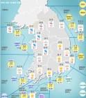 [기상특보]기상청, 내일날씨 및 주간날씨 예보!..전국 비 또는 눈..서울 경기 인천 등 한파주의보 경보..미세먼지 보통!