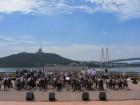 해남동초 희망오케스트라, 명량해협 울둘목서 공연