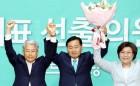 """바른미래당 새 원내대표 김관영, """"젊고 강한 야당 만들겠다"""""""
