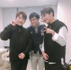 """멜로망스, 유재석과 찍은 '슈가맨2' 촬영 인증샷 공개…""""영광이에요"""""""