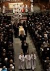 바버라 부시 장례식, 전직 대통령 4명 배웅…트럼프, 경호 문제로 불참
