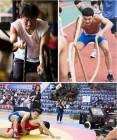 '레슬러' 유해진·김민재, 체대 원정 훈련에 부상까지…레슬러 부자의 열정