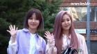 칸유나킴·민주·벤·그레이시, 손인사도 예쁘게 '애교 만점' 뮤직뱅크