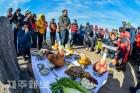 산악인 무사등반 기원 한라산 만설제 봉행