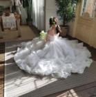'6월의 신부' 양귀비, 부케 그리고 순백의 웨딩드레스 근황 공개