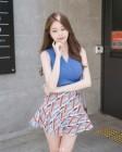 트위치TV '아옳이' 김민영 일상샷, 민소매+치마 '극강 비주얼'