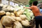 수박 등 농산물 물가 줄줄이 하락해 6월 생산자물가 '보합'