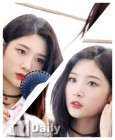 [TD포토+] 다이아 정채연 '거울에 비친 세상 혼자사는 미모'