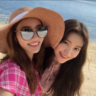 한채영·예리, '비밀언니'가 맺어준 자매의 우월한 셀카