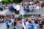 중국 아이돌 연습생 D7BOYS, 올가을 데뷔 앞두고 홍대서 깜짝 공연 '인산인해'