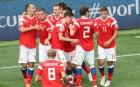 2018 러시아 월드컵 개막전…러시아, 사우디 5-0 대파