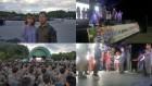 가수-봉사자-국군장병 한마음, 무더위 날리는 위문공연 현장 개최