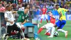 멕시코, 독일 꺾고 최대 이변…브라질 무승부
