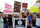 """미국 고교 총격참사에 분노…""""총기규제 강화"""" 대규모 시위"""