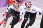 쇼트트랙 취약종목 남자500m 값진 황대헌 은메달·임효준 동메달