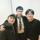'이승기', 촬영 응원 온 나영석 · 이수근과 함께 찍은 사진 공개