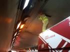[영상]부산터널 화재 오인 신고…40분간 통제