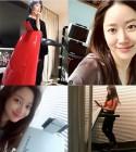 홍진영-전혜빈-조보아, 청순美 넘치는 몸짱스타 셀카 공개