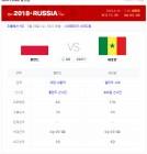 콜롬비아 일본 전보다 치열한 세네갈 폴란드 선발...사디오 마네vs로베르토 레반도프스키