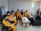 이정래 안산소방서장, 현장부서 직원들과 소통행보