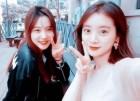 """혜림, '문제적 남자' 화제 속 윤소희와 인증샷 눈길 """"뇌섹녀들의 훈훈한 우정"""""""