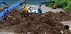 때이른 폭우 … 팔당호 부유쓰레기 700톤 수거