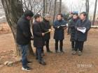 북부지방산림청장, 소나무재선충병 방제현장 점검